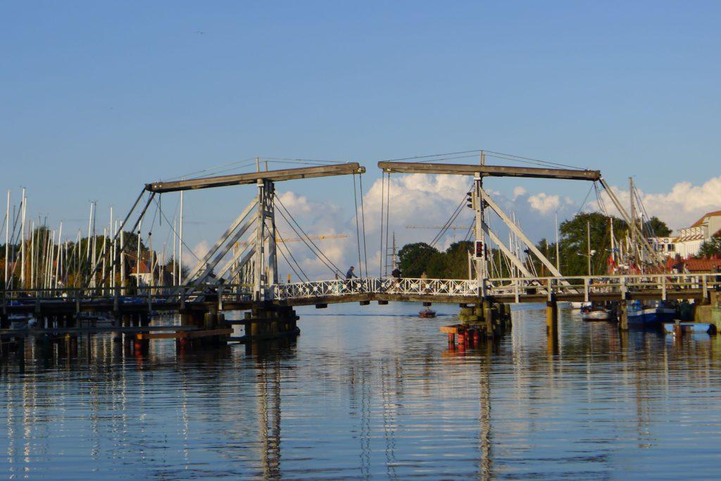 Holzbrücke in Wieck